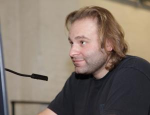 2009 – Köln – FWT – Christian beim Sound Check
