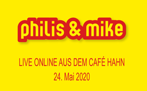 01/10 – Das fänd ich super – Live Online aus dem Café Hahn